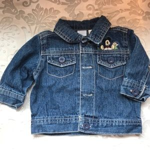 Disney Denim Jacket 0-3 Month's